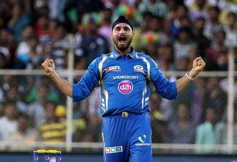 Harbhajan Singh is the highest wicket-taking spinner for MI