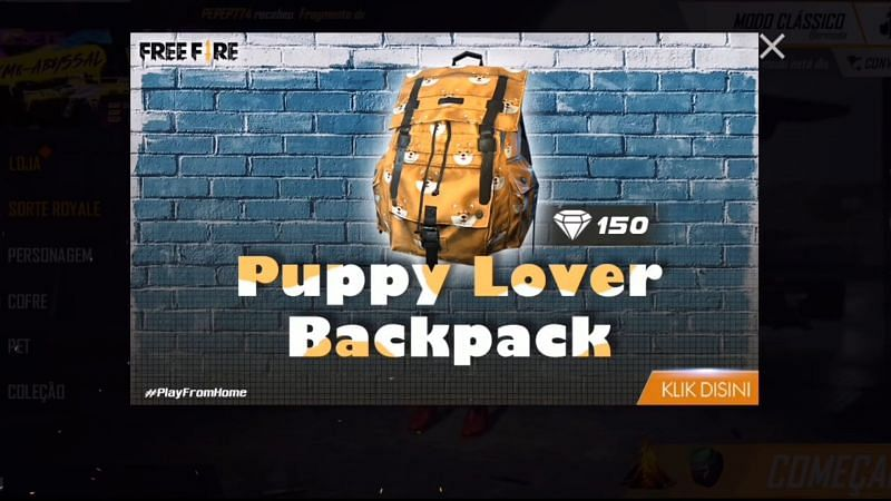 Puppy Lover Backpack