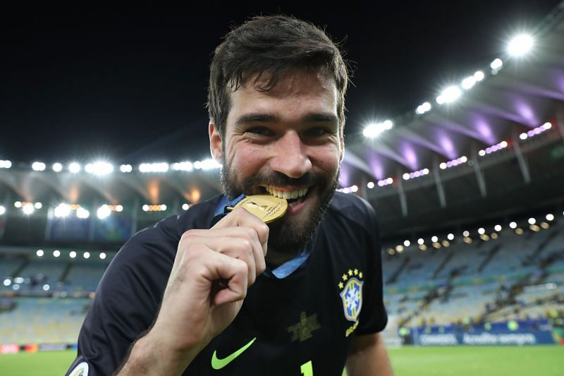Brazil won the 2019 Copa America with Alisson as their first choice