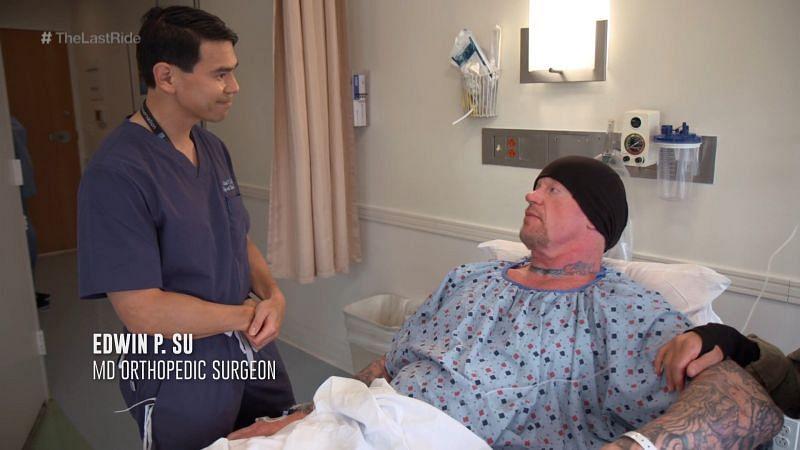 Undertaker has had 15 surgeries in his career