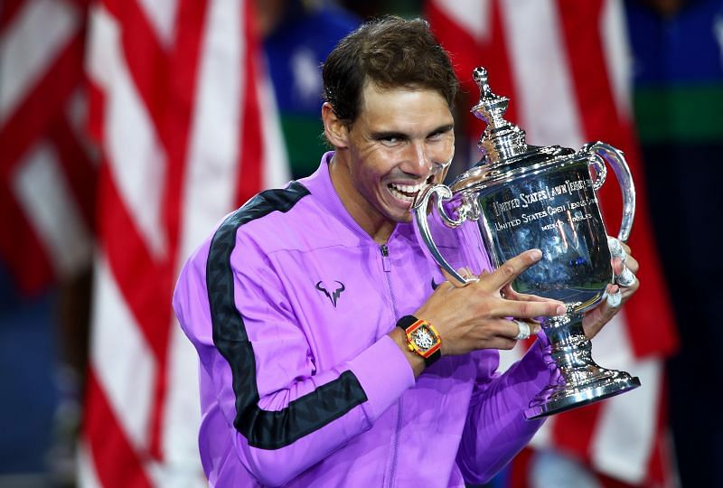 Rafael Nadal famously changed his serve to win his first US Open in 2010. Now he has won it four times.