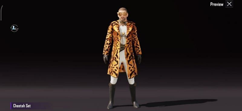 Cheetah Outfit - 21000 BP for 3 days and 42000 BP for 7 days
