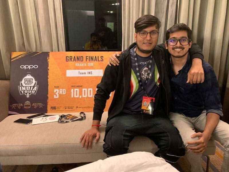 IND Krantiveer with his friend Joker