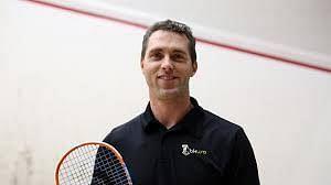 David Palmer, the Australian squash coach