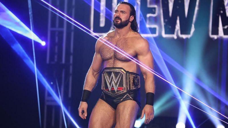 WWE चैंपियन ड्रू मैकइंटायर