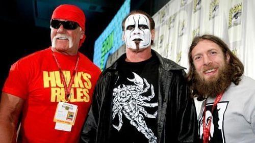 हल्क होगन और द स्टिंग अब WWE में नजर नहीं आते