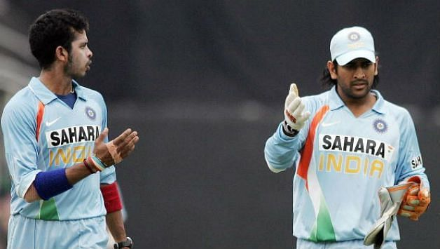 Sreesanth was given the responsibility to bowl the last over in India