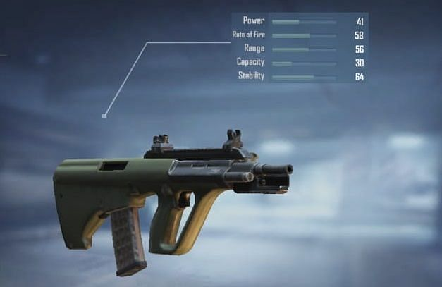 AUG A3 with stats