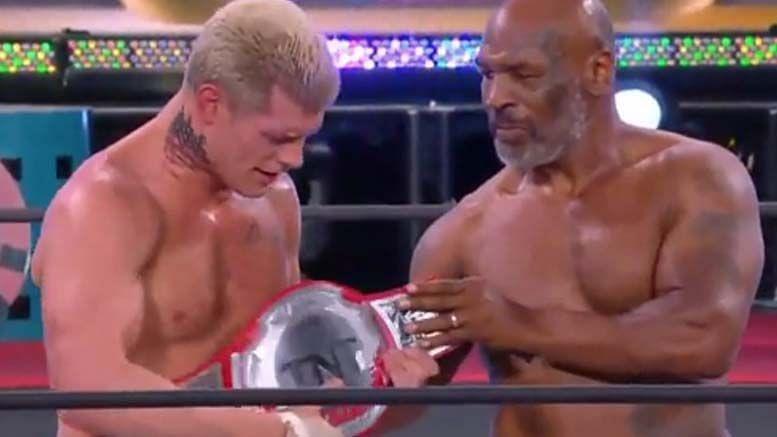 Cody finally won a title in AEW