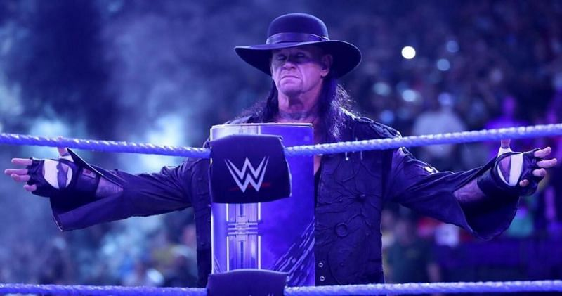 The Undertaker is waiting for the right moment to end his WWE career (Image: WWE)