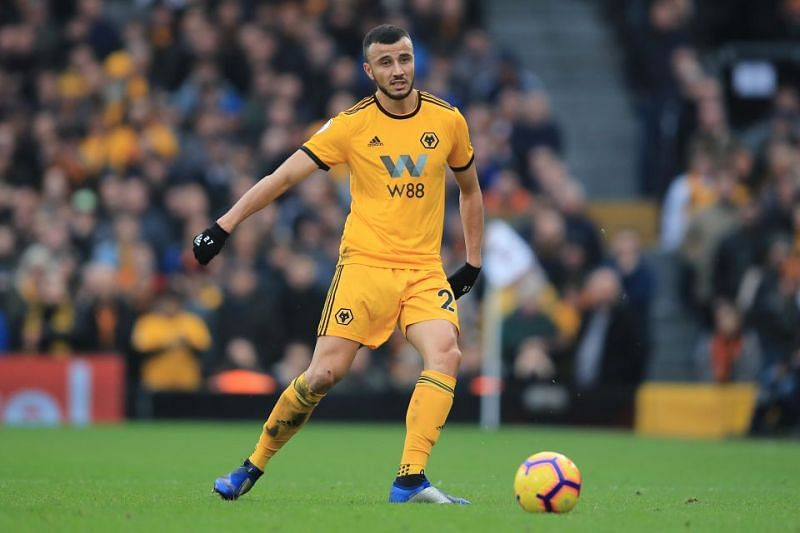 Romain Saiss has been crucial to the Wolverhampton Wanderers defence