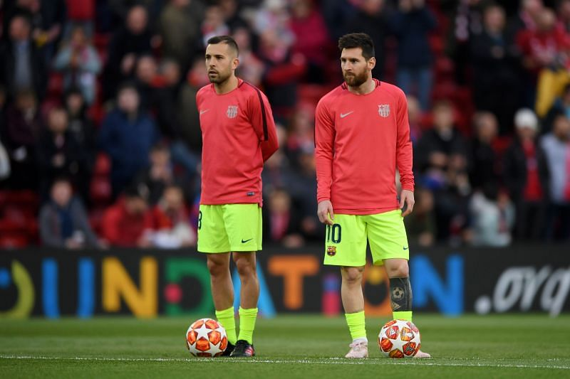Lionel Messi and Jordi Alba seem to have rediscovered their touch.