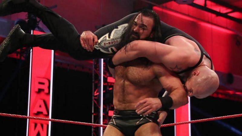 The WWE Champion taking on King Corbin