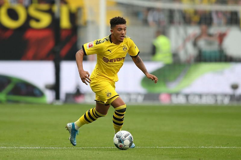 Jadon Sancho may not be included in BVB