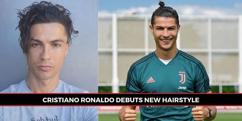 Ronaldo has sported a new hairstyle, dividing opinion among supporters. (Picture source: Sportskeeda)