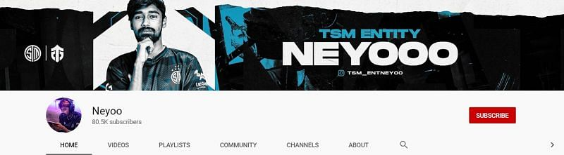 I have 80.5k subscribers on YouTube