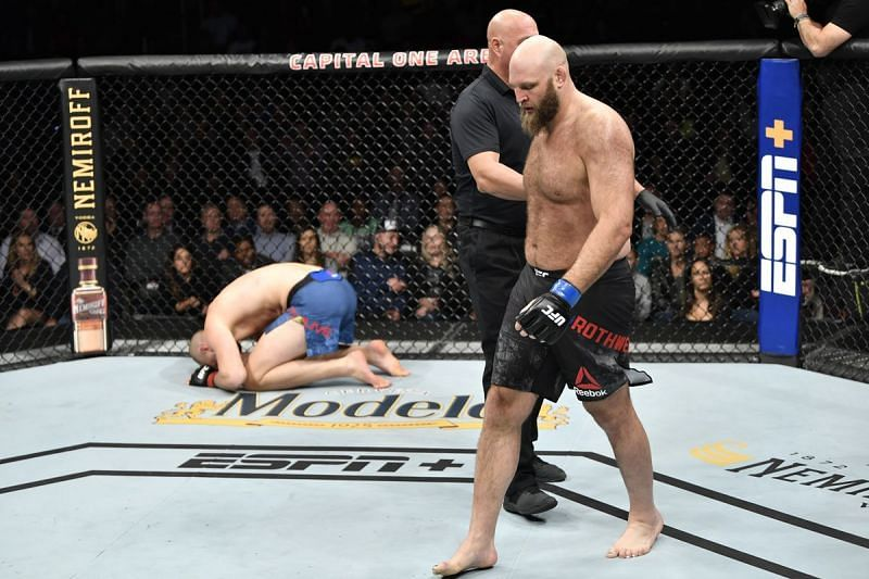 Another huge win for Ben Rothwell