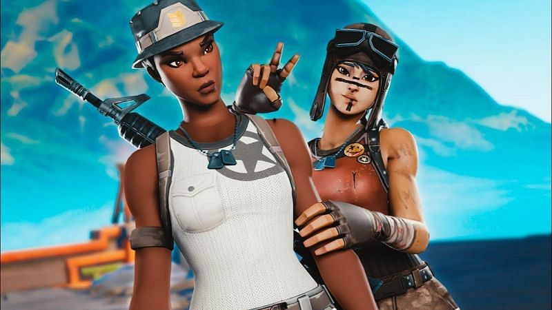 Recon Expert & Renegade Raider are two of the rarest Fortnite skins. (Image Credits: WallPaper Access)