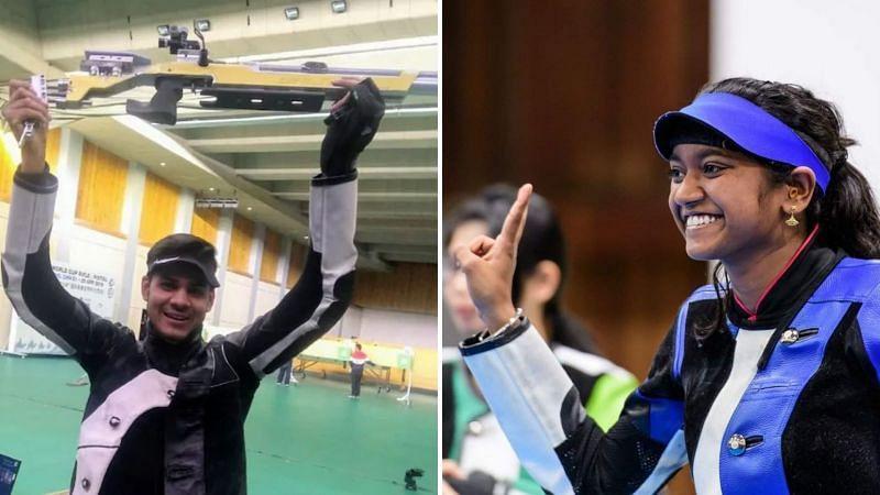 Divyansh Singh Panwar, Elavenil Valarivan retain top spot in ISSF World rankings