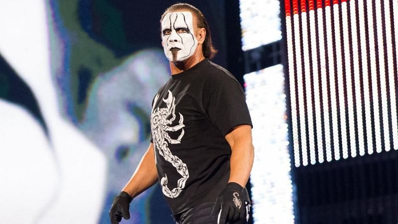 Sting first joined WWE in 2014