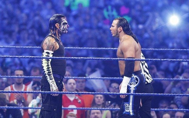 Jeff Hardy faced his brother, Matt Hardy, at WrestleMania 25.