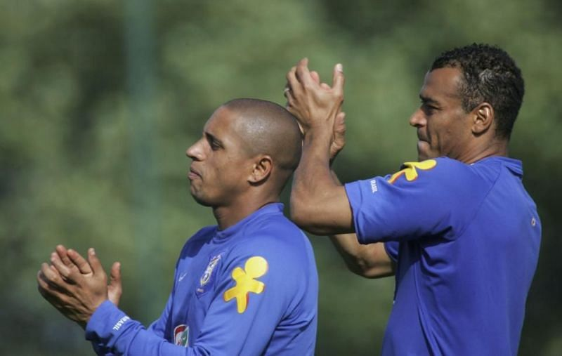 Cafu and Roberto Carlos are hailed as all-time greats in their positions.