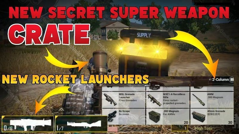 SUPER WEAPON CRATE