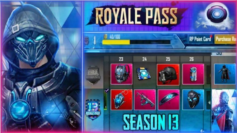 PUBG Season 13 Royale Pass