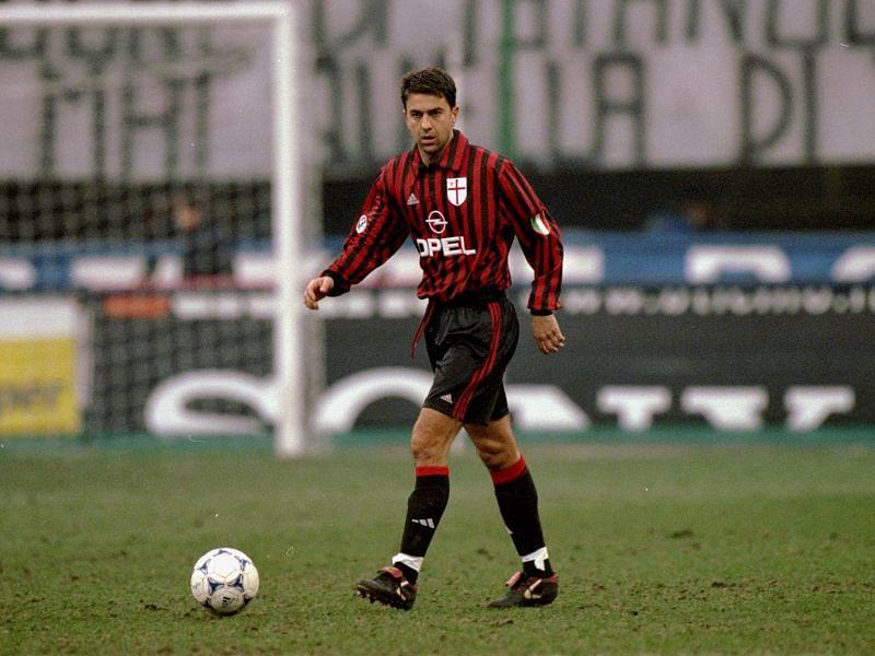 Alessandro Costacurta of AC Milan
