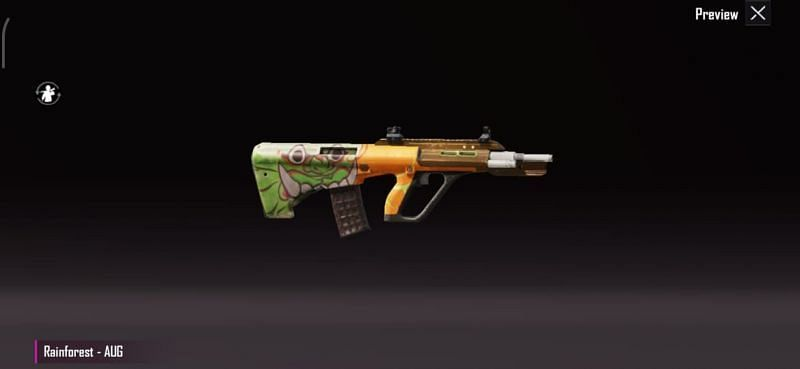 AUG A3 Rainforest