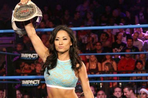 गैल किम ने TNA में सफलता हासिल की