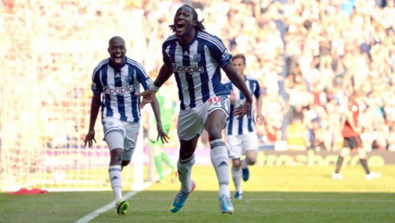 Romelu Lukaku spent one season at West Brom and scored 17 Premier League goals.