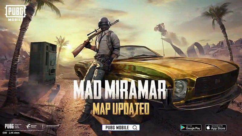 Updated Miramar map