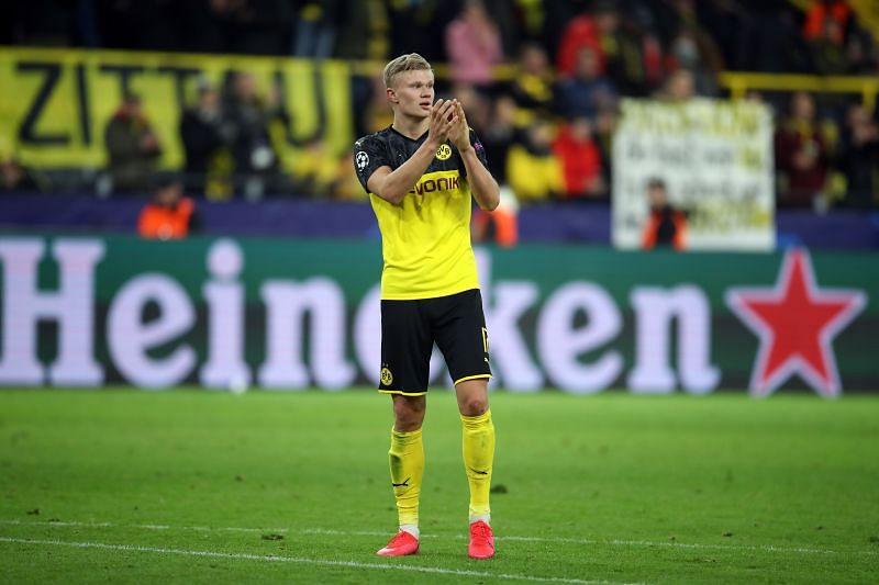 Erling Haaland has hit the ground running with Borussia Dortmund