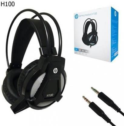 HP H100 Wired Gaming Headphone, Price: Rs 885