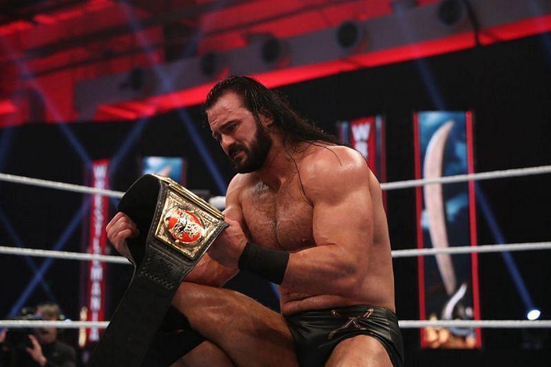 Drew McIntyre won the WWE Championship at WrestleMania