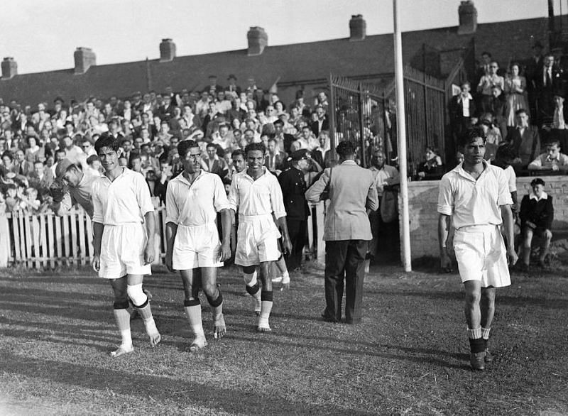 The suggestion that India demanded to play the 1950 World Cup barefoot is a famous myth