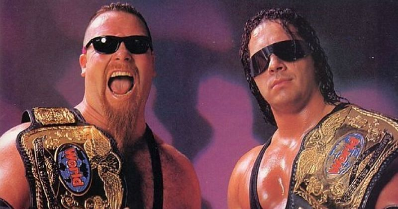 The Hart Foundation did not take it easy on Vince McMahon.