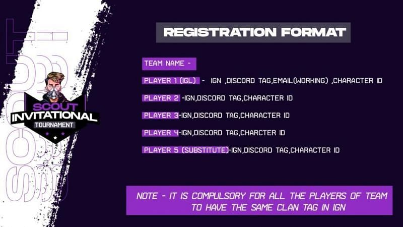 Scout Invitational Tournament Registration