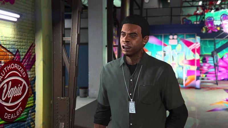Lamar Davis in GTA Online