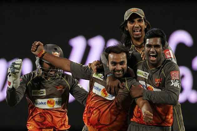 Amit Mishra spun SRH to a victory against RR.