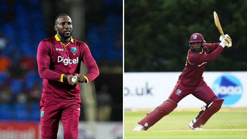 Kesrick Williams (L) and Sunil Ambris are marquee players in the Vincy Premier T10 League