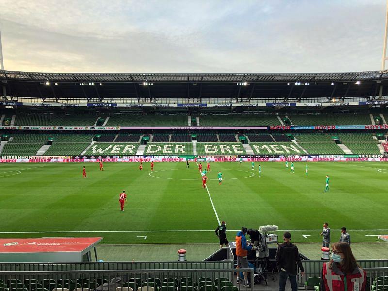 Bayer 04 Leverkusen kick-off against SV Werder Bremen on Monday night