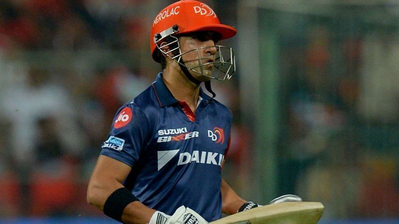 Gautam Gambhir had two stints as captain with the Delhi Capitals