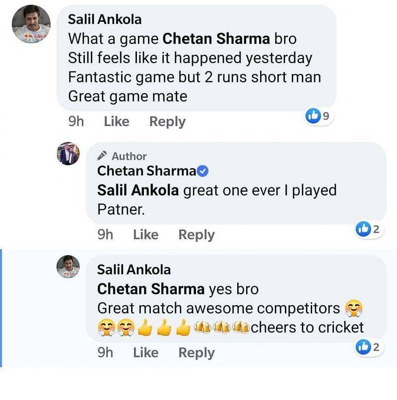 Salil Ankola was a part of Bombay