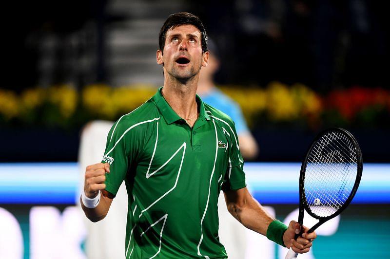 Novak Djokovic trained almost everyday in Marbella