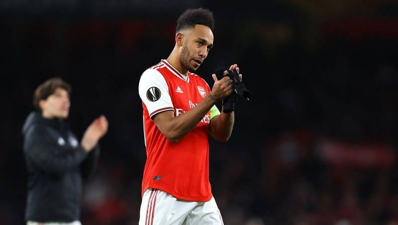 Pierre-Emerick Aubameyang has carried the weight of the entire Arsenal squad on his shoulders