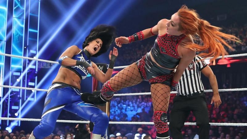 Bayley and Becky have been fierce rivals inside the ring