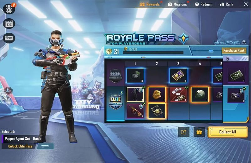 PUBG Mobile Season 13 Royale Pass end date