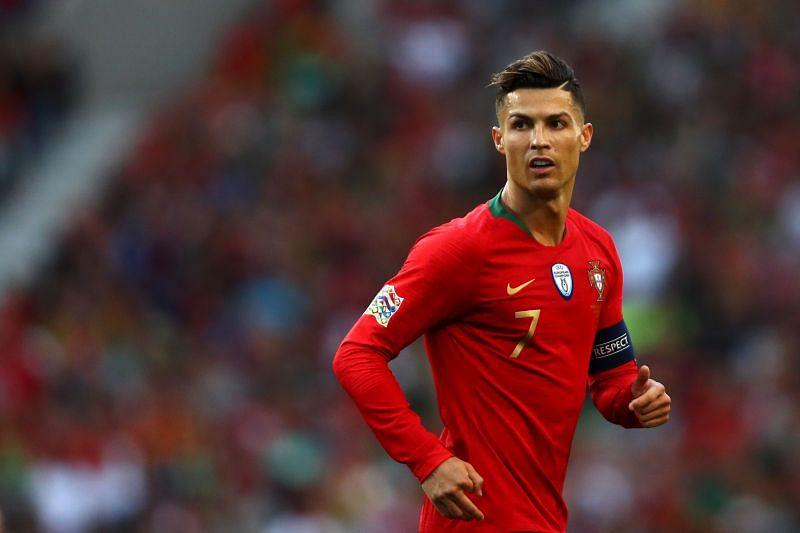 Cristiano Ronaldo is closing in on a stunning goalscoring r